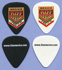 2012 KISS Army Mexico fan site promo pick