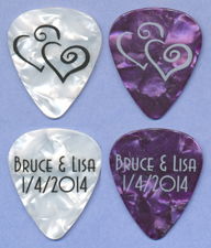 Bruce's wedding reception picks