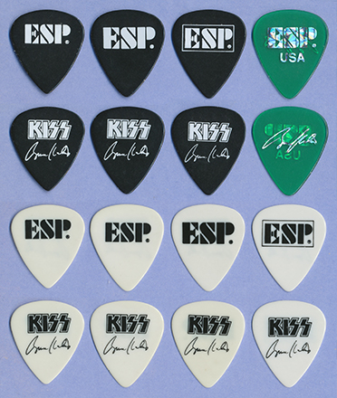 Bruce ESP Guitar picks