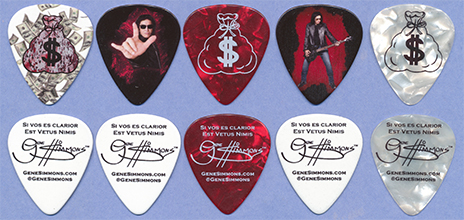 2017 Gene Simmons If It's Too Loud merch pack picks