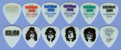 2001 Japan KISSfest souvenier picks