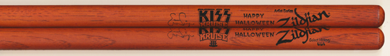 2013 KISS Kruise merchandise booth drumsticks
