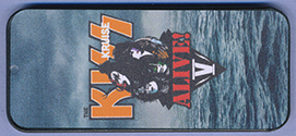 KISS Kruise V merch pick tin