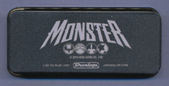 Monster Platinum package pick tin