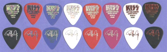Psycho Circus prototype guitar picks