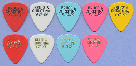 Bruce's Wedding Picks